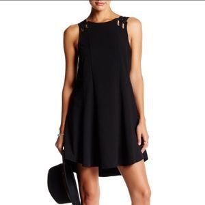 FREE PEOPLE Trapeze Black Baby Love Dress